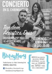 Music on the terrace @ Bloody Mary Mountain Chiringuito   Valencian Community   Spain