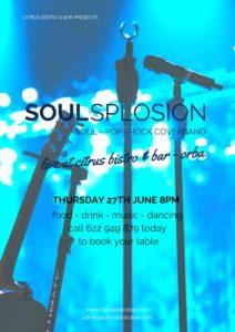 Soul Splosion @ Bar Citrus, Orba | Spain