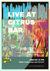Soggy Bottom Band @ Bar Citrus, Orba | Spain