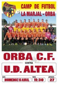 FC Orba v Altea @ Sports Centre, Orba   Comunidad Valenciana   Spain