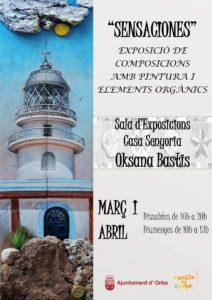 Art exhibition 'Sensaciones' @ Casa Senyoria, Orba   Orba   Comunidad Valenciana   Spain