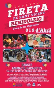 Fiesta de San Vicent @ Cueva de las Calaveres, Benidoleig   Benidoleig   Comunidad Valenciana   Spain