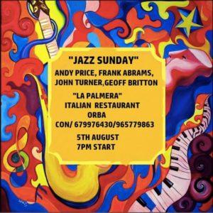 Jazz Sunday @ La Palmera Pizzeria, Orba