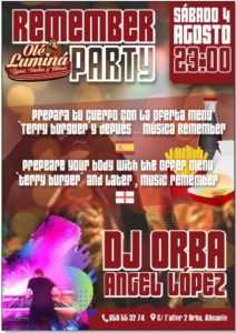 Party with DJ Angel Lopez @ Restaurant Ole Lumina, Orba