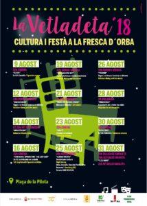 Vetladeta - Cultural fiesta @ Placa de la Pilota, Orba
