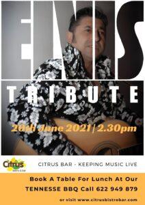 Elvis tribute at Citrus @ Citrus Bistro Bar, Orba | l'Alfàs del Pi | Comunidad Valenciana | Spain