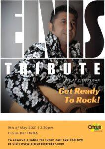 Elvis tribute at Citrus @ Citrus Bistro Bar, Orba