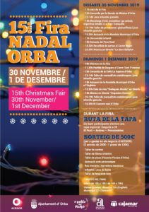 Fira nadal - Christmas market in Orba @ Town Centre, Orba