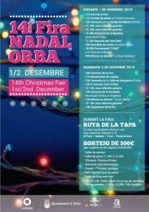 Fira nadal - Christmas market @ Town Centre, Orba
