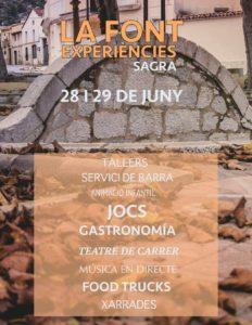 Sagra fiesta - La Font Experiencies @ Sagra