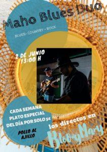 Maho Blues Duo @ Bloody Mary Chiringhuito, Benimeli | Valencian Community | Spain