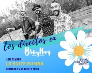 La Suite Rumba @ Bloody Mary Chiringhuito, Benimeli | Valencian Community | Spain
