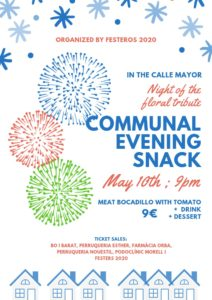 Communal Evening - Night of the Floral Tribute @ Calle Mayor, Orba