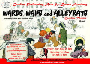 Wards, Waifs and Alleyrats @ Careline Theatre, Alcalali