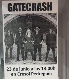 Gatecrash @ Bar Cresol 66, Pedreguer | Spain