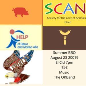 SCAN Summer BBQ @ El Cid Bar & Restaurant, Benidoleig