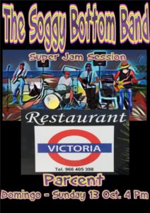 Soggy Bottom Band at Victoria Station @ Restaurant Victoria, Parcent | Parcent | Comunidad Valenciana | Spain