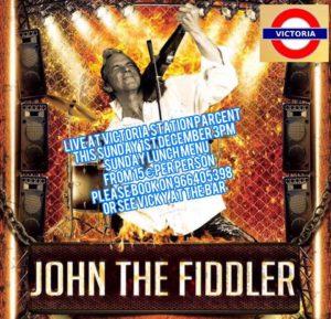 John the Fiddler at Victoria Station @ Restaurant Victoria, Parcent   Parcent   Comunidad Valenciana   Spain