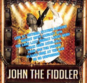 John the Fiddler at Victoria Station @ Restaurant Victoria, Parcent | Parcent | Comunidad Valenciana | Spain