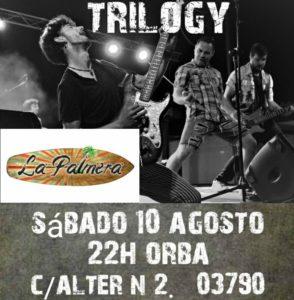 Trilogy at La Palmera @ La Palmera Lounge, Orba | Orba | Comunidad Valenciana | Spain