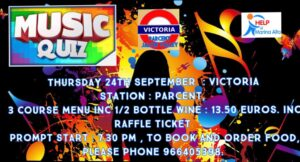 Music Quiz at Victoria Station @ Bar Victoria Station, Parcent