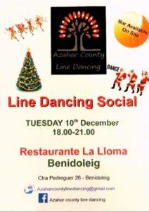 Line Dancing Social @ Restaurant La Loma, Benidoleig   Comunidad Valenciana   Spain