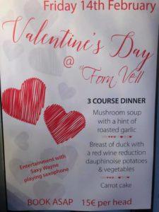 Valentine's Dinner at Forn Vell @ Forn Vell, Orbeta