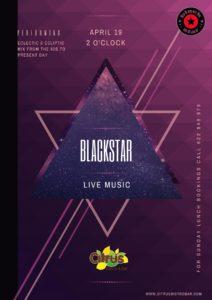 Black Star at Citrus @ Citrus Bistro Bar, Orba