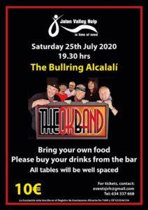 OK Band at Alcalali Bullring @ Alcalali Bullring