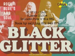 Black Glitter Band at Citrus @ Citrus Bistro Bar, Orba