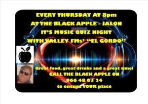 Quiz at Black Apple @ Black Apple, Jalon