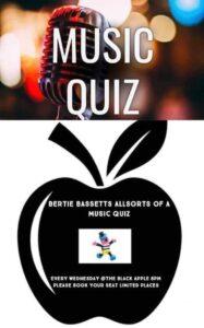 Quiz night at Black Apple @ Black Apple, Jalon