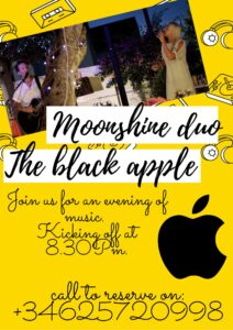 Moonshine Duo at Black Apple @ Black Apple, Jalon