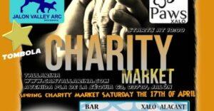 Charity market @ Bar Can Tallerina, Jalon