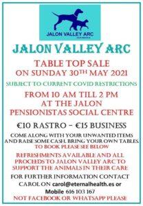 ARC Table Top Sale @ Jalon Pensionista Centre