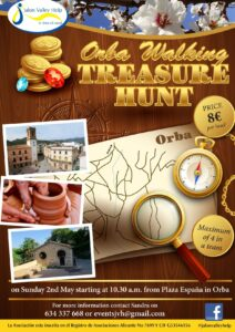 Treasure Hunt on foot @ Orba town centre