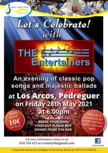 The Entertainers JVH concert @ Los Arcos, Pedreguer