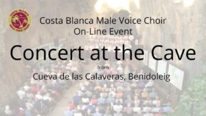Concert at the Cave, Benidoleig - virtual event @ Online